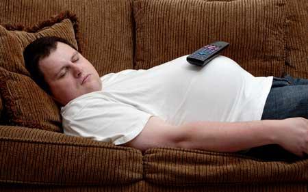 tučný spánok